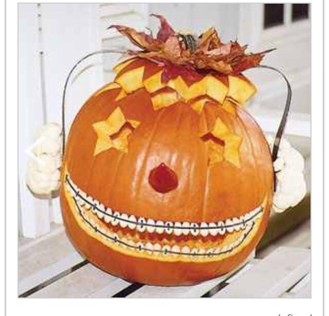 Teenager pumpkin