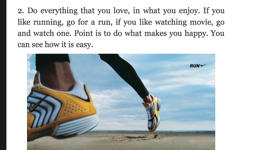 Go for a run, watch a movie something that makes u happy.