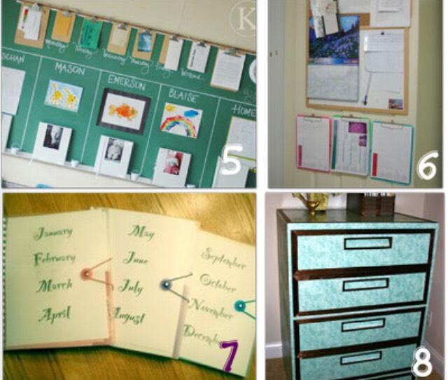 term paper organization