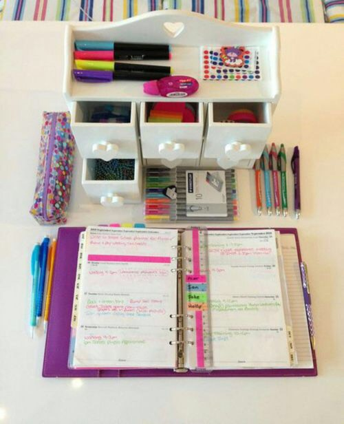 Lay out your homework to see what you need help on or what you already know
