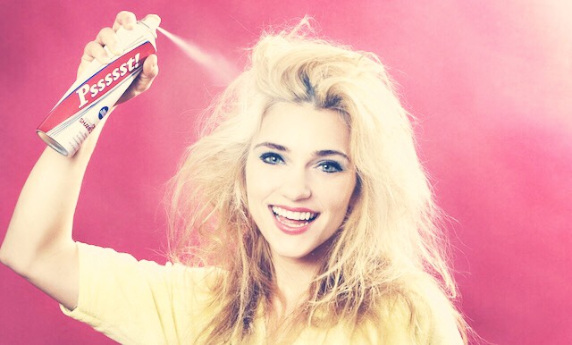 You can use baby powder in your hair as a cheaper alternative to dry shampoo... Apply then brush through with a comb or hairbrush!💁