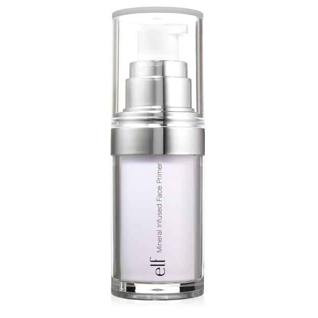 4. E.L.F. MINERAL INFUSED FACE PRIMER $6  Kind of like good cheap labor. Does the trick just as well for a SMALL fraction of the price.  Compare to: BareMinerals primer  Try: A small amount. A little goes a long way with this one.