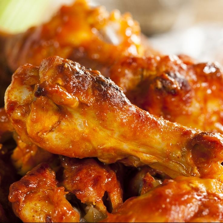 """This is super easy to make them!!! But it's so good you'll never go back to """"Buffalo wild wings"""" ;)"""