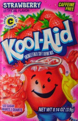 Get a packet of kool aid and follow instructions on the back