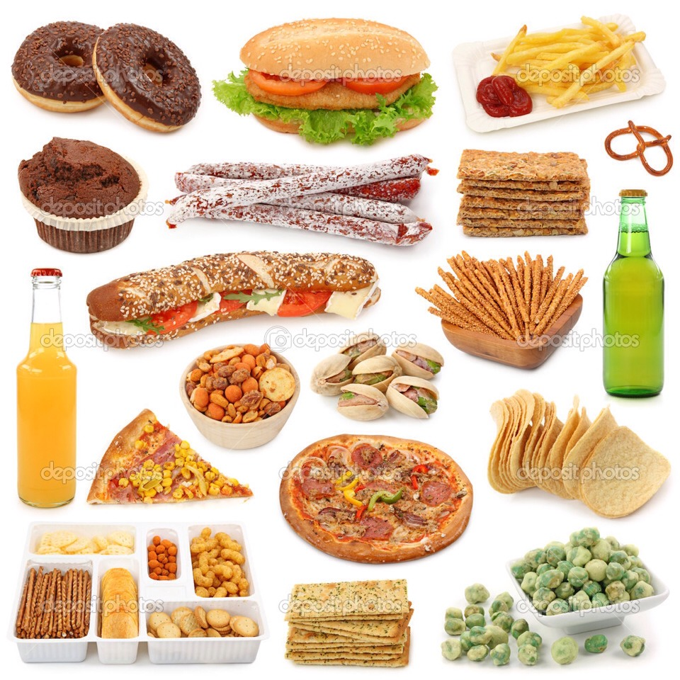 Try to avoid going near unhealthy food that you crave.