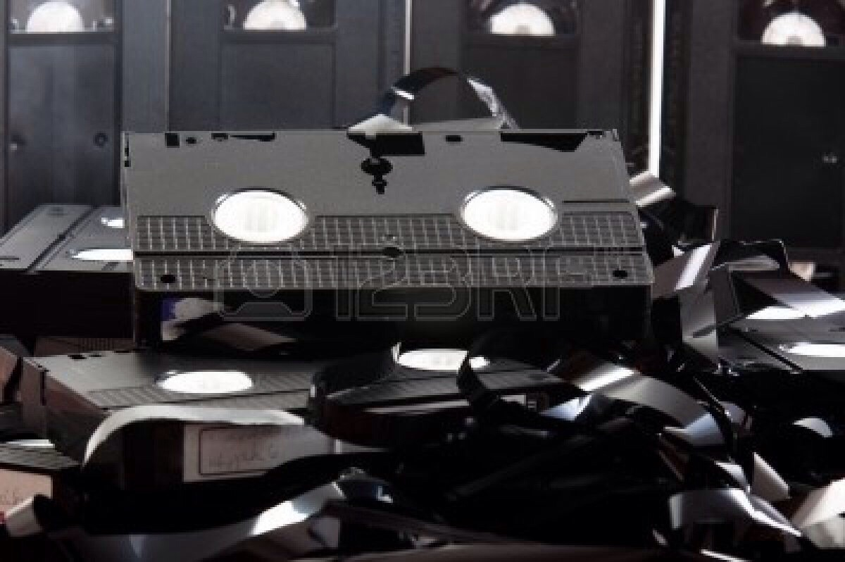 Old audio formats. For example, it's useless to keep around old VHS tapes with no VCR. And what about those old CDs collecting dust. If you don't own/ use your CD player it's time to be out with the old, in with the new.